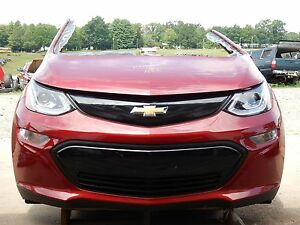 2017 Chevrolet Bolt Lt Front End Clip Nose Cajun Red Ev Nto Iihs Test Car