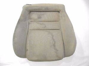 1994 1998 Mustang Front Bucket Seat Bottom Tan Cloth Driver