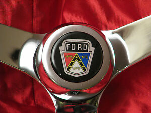 Ford Courier Country Squire Country Sedan Falcon Galaxie Mustang Steering Wheel