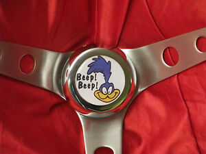 Roadrunner Steering Wheel With Horn Button