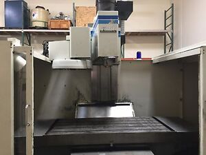 1989 Fadal Vmc 6030 Cnc Vertical Machining Center Cnc 88 Control 6030 Machine