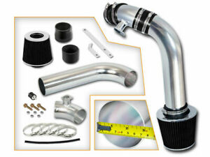 Bcp Black 92 98 Bmw E36 3 series I6 Cold Air Intake Induction Kit Filter