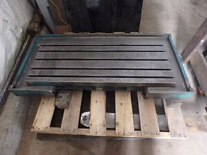 55 13 X 26 25 X 5 Steel Welding T slotted Table Cast Iron Layout Plate_5 Slot