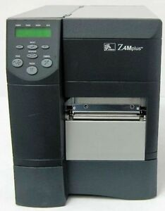 Zebra Z4m Plus Point Of Sale Thermal Barcode Printer z4m00 2001 0020