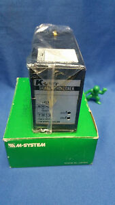 M system K unit Signal Conditioner Km d r new