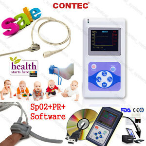 Infant pediatric neonate child Fingertip Pulse Oximeter Spo2 Pr Monitor software
