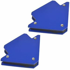 25lb Small Welding Magnet X 2 Right Angle Square Holder Soldering Durable At847