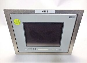 Uniop Etop11 0050 Operator Interface Touch Screen Monitor 24 Vdc 0 6a 32 Mb