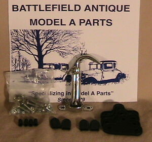 1930 1931 Model A Ford Ratrod Streetrod Stainless Steel Hood Latch Kit