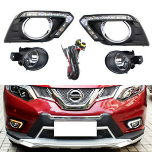 Complete Switchback Led Daytime Running Light turn Signal For 14 16 Nissan Rogue