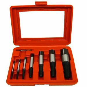Stud Bolt Screw Extractor Remover Set For Rusted Rounded Seized Bolt Te111