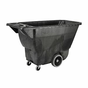 Rubbermaid Commercial Polyethylene Box Cart 450 Lbs Load Capacity