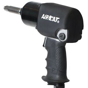 Aircat 1 2 X 2 Ext Aluminum Impact Wrench Twin Hammer 1460 xl 2