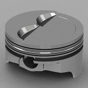 Icon Forged Piston Set Fits Chevy 377 Rod 6 000 Step Dish 15 2cc 2v