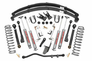 Rough Country 69620 6 5 X series Lift Kit For Jeep 84 01 Cherokee Xj 4wd