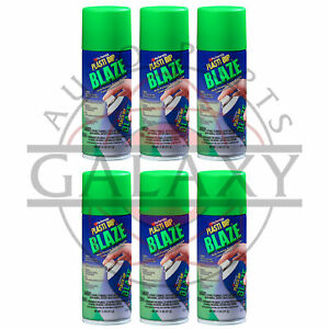New Performix 11224 Plasti Dip Blaze Green X6 11 Oz Spray Can