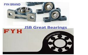 2 Fyh Ucp202 10 Two Bolt Flange Mount 5 8 Inch Pillow Block Bearings Ucp 202