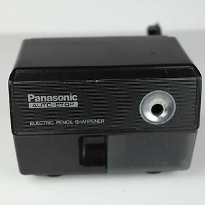 Panasonic Electric Pencil Sharpener Kp 110 Japan Suction Feet Auto Stop