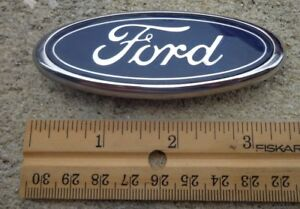 Ford Mustang Trunk Blue Oval Emblem Badge Decal Logo 3 5 Oem Genuine Stock Rear