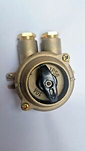 Rotary Switch Marine Grade Brass Series 1132 2 tranberg Hi sea Pauluhn