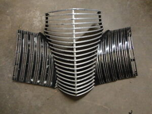 Original 1940 Cadillac Series 60 62 75 Grille Oem Chrome No Cracks Sedan Coupe
