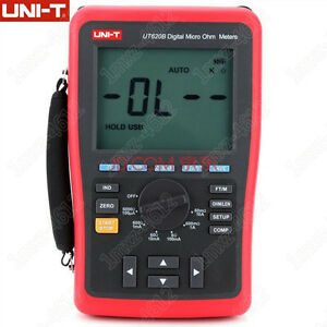 1 Pc New Uni t Ut620b Digital Micro Ohmmeter tt3