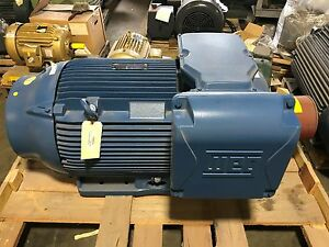 New Weg Inverter Duty 300 Hp Electric Motor 447 9t Frame 30018ep3gkd449 w22