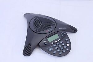 New Polycom Soundstation 2 With Display Non expandable 2200 16000 001 Open Box