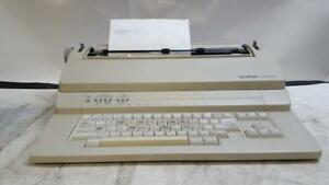 Brother Bem 530 Electronic Typewriter With Cleaning Kit