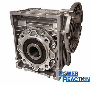 Motovario Nmrv50 Right Angle Worm Gearbox Speed Reducer Size 50 25mm