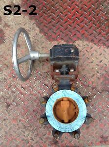 Crane Flowseal 3 Wcb Manual Wafer Butterfly Valve 740psi Class 300