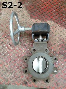 Crane Flowseal 24 3la 121ttg boj 4 Wcb Manual Wafer Butterfly Valve 740psi