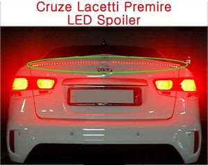 Kspeed Fits Chevy Holden Cruze Trunk Wing Rear Led Spoiler