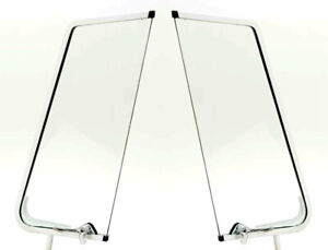 Vw Type 2 Bus 1955 1967 New Vent Wing Assembly With Glass Hardware Latches