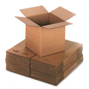 100 6x6x2 Cardboard Shipping Boxes 6 X 6 X 2 Corrugated Boxes