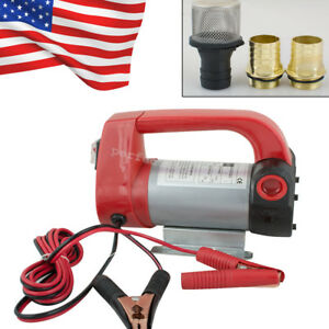 12v Diesel Biodiesel Kerosene Pump Oil Fuel Transfer Extractor Pump Suction Lift
