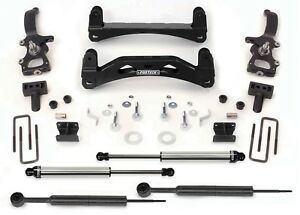 Fabtech K2000dl Basic 6 Lift Kit W Dirt Logic Ss Shocks For 04 08 Ford F150 2wd