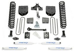 Fabtech K20101 Basic 6 Lift Kit W Performance Shocks For 05 07 Ford F250 4wd