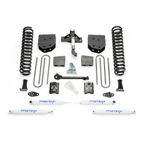Fabtech K2010 Basic 6 Lift Kit W performance Shocks For 2005 2007 Ford F250 4wd