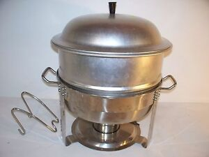 Seville Classics Commercial Chafing Dish Model 14009 4 Qt 18 10 Stainless Steel