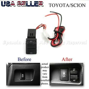 For Scion Xd Xb Tc Usb Charger Power Plug Play Adapter Dual Ports Aftermarket