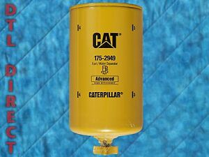 Genuine Caterpillar 175 2949 Fuel Filter Water Separator Cat 1752949