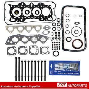 94 01 Acura Integra Gsr Type r Engine Full Gasket Set W Head Bolts B18c1 B18c5