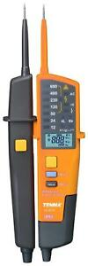 Voltage And Continuity Tester With Rcd Test Led Lcd Display 12v To 690v