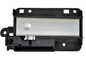 Glove Box Compartment Lock Latch Handle Black Housing With Silver Lever