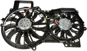 Radiator Fan Assembly Without Controller Dorman 620 835