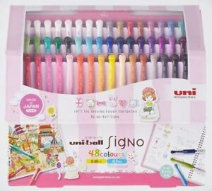 48 Colors New Uni ball Um 151 Roller Ball Pen Limited With Original Box japan