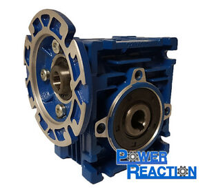 Motovario Nmrv30 Right Angle Worm Gearbox Speed Reducer Size 30 14mm