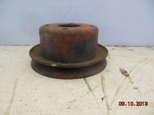 Mgb Water Pump Pulley 2 Inches Tall Single Groove Pulley