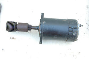 Mgb Starter Motor One Used Early Starter